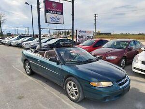 1998 Chrysler Sebring CLEAN, TOP WORKS FLAWLESSLY