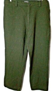 Vintage Woolrich Loden Heather 80% Wolle Jagd Hose Grün Herren L 36-38 x 34