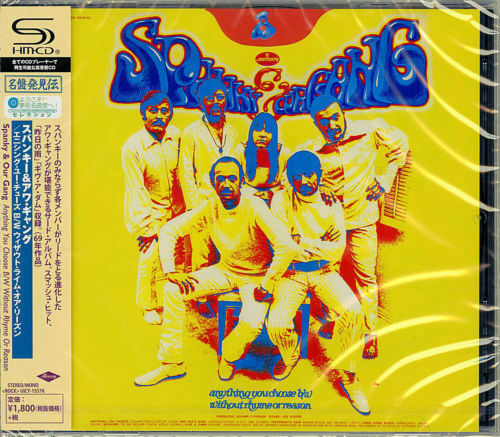 SPANKY & OUR GANG-ANYTHING YOU CHOOSE B/W WITHOUT RHYME OR...-JAPAN SHM-CD D73