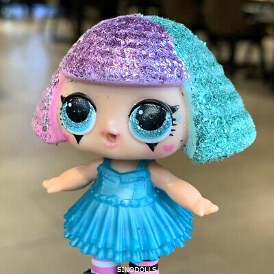 lol surprise dolls Series 3 wave 1 Lil Sister Blue Hair Girls Christmas gift