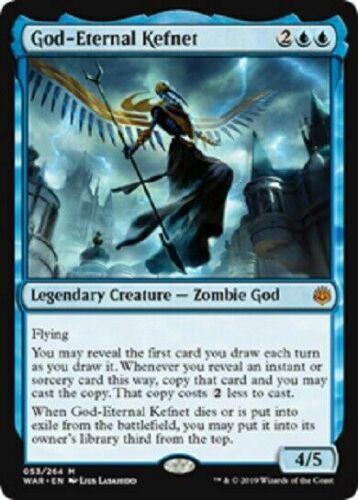 OtBG MTG Magic Mythic NM Near Mint God-Eternal Kefnet  WAR War of the Spark