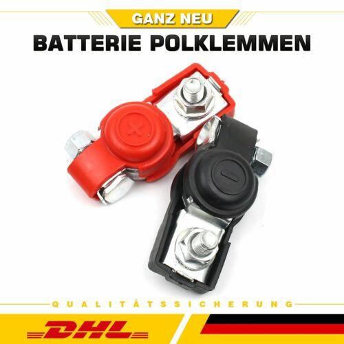 24V Batterieklemmen Autobatterie PKW Pol Klemme KFZ Batteriepolklemmen Set 12V