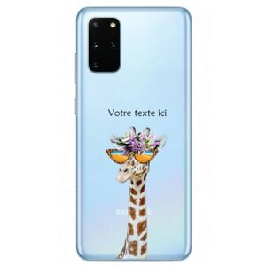 Coque Galaxy Note 10 LITE girafe lunettes personnalisee