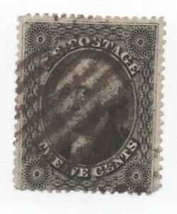 TIMBRE-US-034-GEORGES-WASHINGTON-034-12-c-noir-sur-blanc-1857