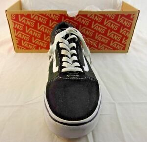 half off official site first look Details about Vans Men''s Ward Canvas Low-Top Sneakers, Black Size 10.5 NWT