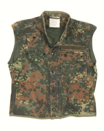 German army surplus flecktarn camouflage field tactical vest
