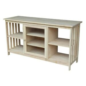 Whitewood Mission Entertainment Stand TV-58 TV Stand NEW