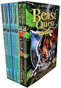 Beast-Quest-Series-7-Collection-6-Books-Set-37-42-by-Adam-Blade-Convol-Ellik