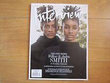 Interview Magazine September 2016 Issue Jaden & Willow Smith New.