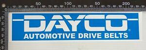 GENUINE-DAYCO-AUTOMOTIVE-DRIVE-BELTS-RACING-SPONSOR-USA-CAR-BUMPER-STICKER-DECAL