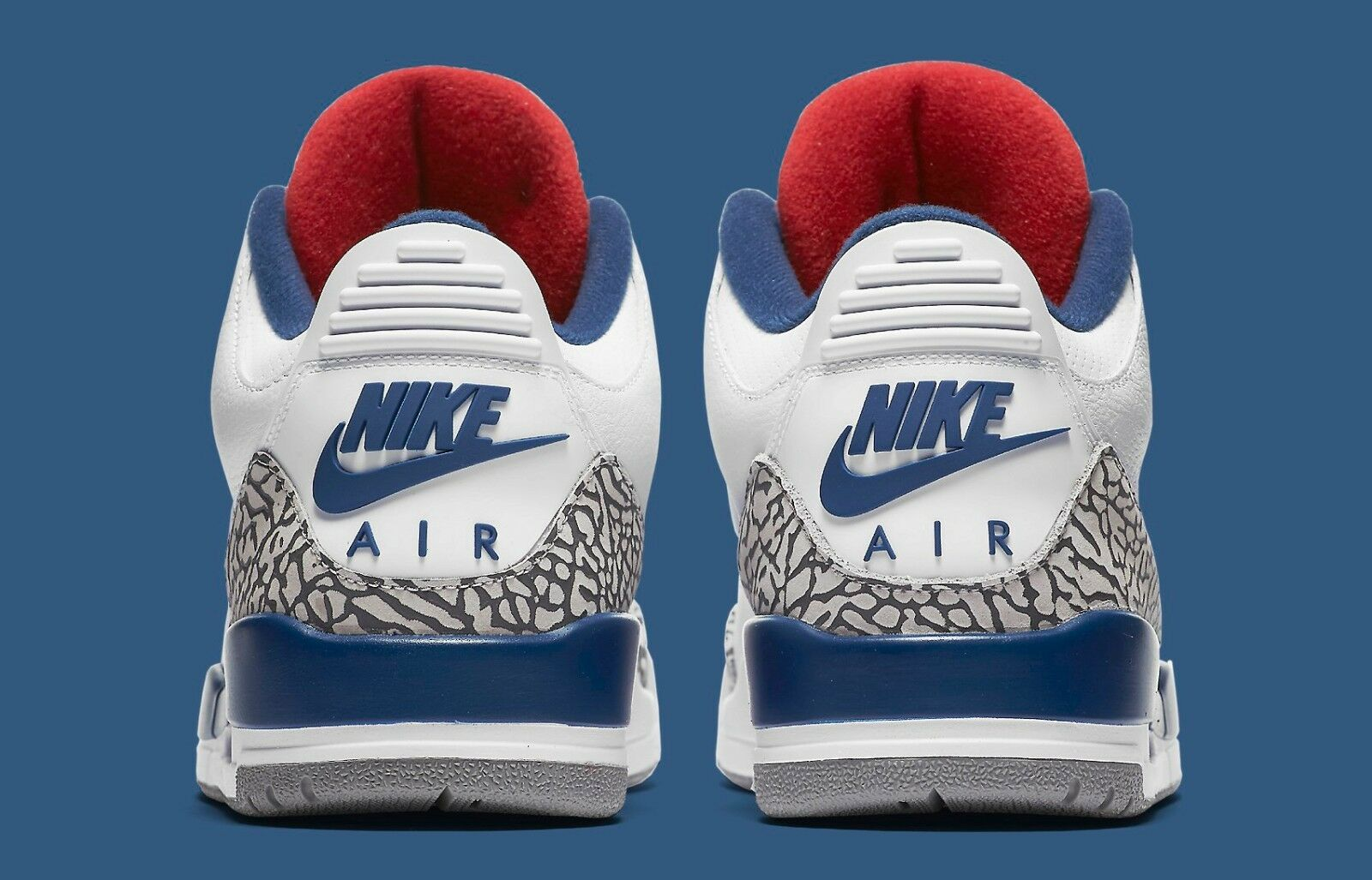 2016 Nike Air Jordan 3 III Retro OG True Blue 854262-106 White Cement Size 9.5. 854262-106 Blue 43593f