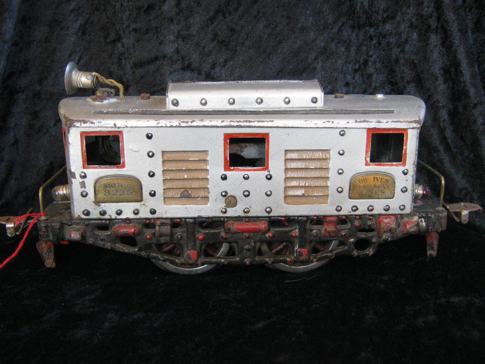 Uralte Spur 2 Yves E-Lok 3235, rare Yves gauge II electric locomotive 3235