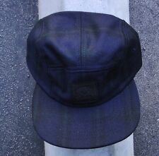 PATCH LOGO FRETIX NAVY MENS DIAMOND SUPPLY CO. 5 PANELS CAMPER SNAPBACK HAT