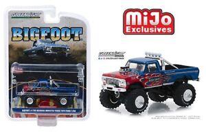 Greenlight-1-64-Original-Bigfoot-1-1974-Ford-F-250-Monster-Truck-w-Flames-51282
