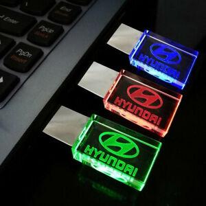 flash drive USB pendrive chiavetta 16Gb led a colori logo HYUNDAI
