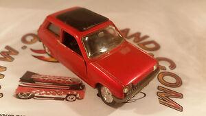Norev-Jet-Car-1972-Renault-5-R5-n-711-1-43-fabricado-en-francia-version-rojo