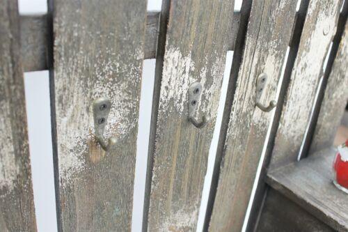 Wandorganizer Schlüsselhaken 62cm Braun 17B046 Schlüsselbrett Briefablage Post