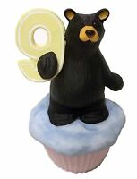 Bearfoots Bear Cubcake Figurine Bears by Jeff Fleming Big Sky Carvers NIB