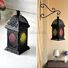 LANTERN METAL CASTLE HANGING PALACE GARDEN TEA LIGHT CANDLE HOLDER WEDDING