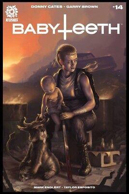 BABYTEETH 1 ELIAS CHATZOUDIS COLOR VARIANT DONNY CATES AFTERSHOCK 300 PRINT HOT!