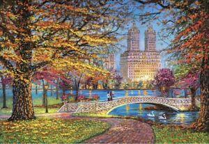 """Puzzle 1500 pieces 68*47cm. """"Central Park, New York"""". Castorland C-151844."""