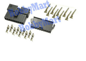 JST-2-5mm-SM-9-Pin-Male-Female-Battery-Connector-Plug-with-Terminal-Crimps-x-10