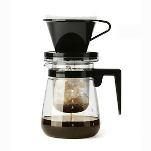 Drip Coffee Maker Hot Water : IWAKI Cold Brew Dutch Coffee Maker SET Hand Drip Ice&Hot 700mL No Electicity eBay