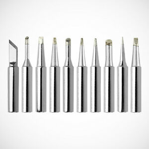 new 10pc soldering iron tips 900m t series for solder. Black Bedroom Furniture Sets. Home Design Ideas