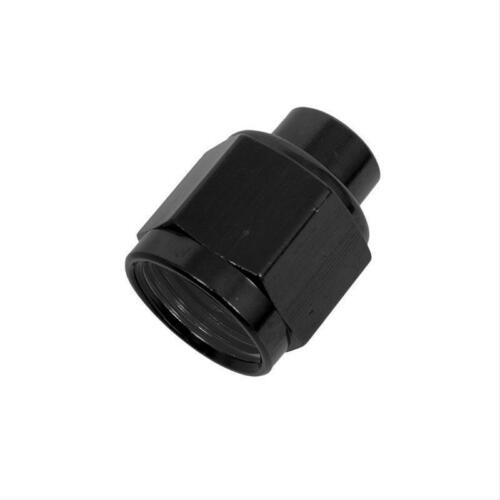 "8 AN Aluminum 1//8/"" NPT Gauge Port Black Fragola 492928-BL Fitting Cap"