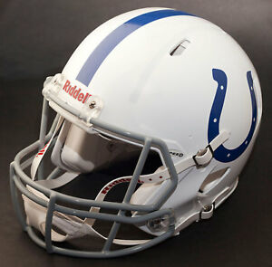 d016199d Details about ANDREW LUCK Edition INDIANAPOLIS COLTS Riddell Speed REPLICA  Football Helmet