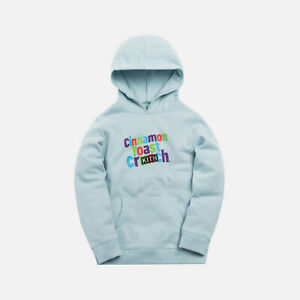 wholesale dealer ce631 0ddb2 Details about Kith Kids x Cinnamon Toast Crunch Hoodie Light Blue