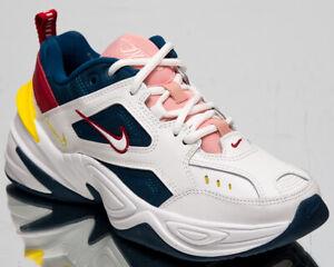 Detalles acerca de Nike M2K Tekno Mujer Azul Fuerza cumbre Zapatos tenis  informales Blanco Grueso Papá- mostrar título original