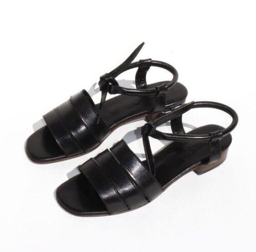 Rare Martiniano Mahuta Tie Sandal Sz 6 SS15 Black