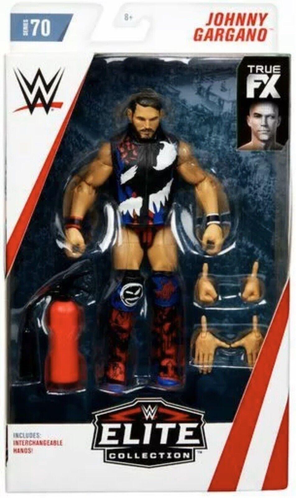 Wwe Johnny Gargano Mattel Elite Serie 70 Wrestling cifra Azione Nxt Wwf Nuovo
