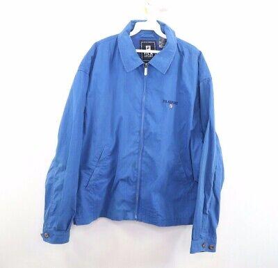 Vintage 90s Fila Sport Mens XL Tennis Bjorn Borg Spell Out Full Zip Jacket Blue   eBay