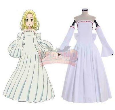 Hot! The Seven deadly sins Elaine cosplay costume dress HH.50