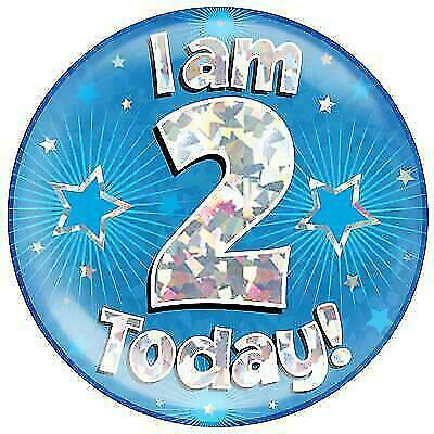 in stock Second Birthday Age Badge Choice of Design