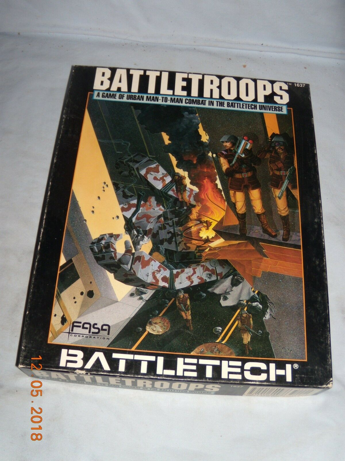 FASA BATTLETECH BATTLETROOPS COMBAT BOARD GAME (NEW)