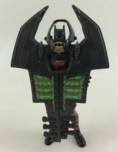 """Batman Vintage 1995 BTAS 6"""" Figure Flip Around Wings Red DC Comics Kenner"""