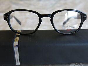 image is loading marius morel black round eyeglass frames size 47 - Morel Frames