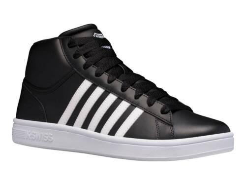 Texti K-Swiss Court Winston Mid Herren SneakerTurnschuhSportschuhLeder