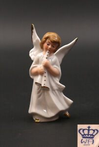 9942158-Porcelain-Figurine-Wagner-amp-Apel-Angel-with-Clarinet-H10cm