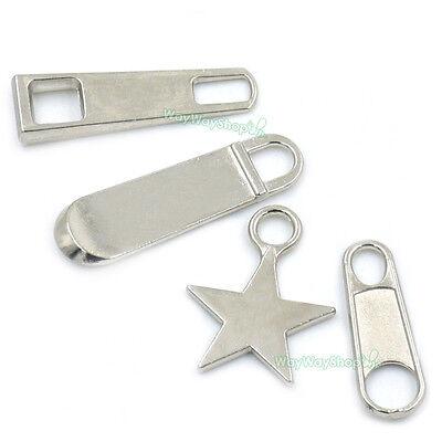 #5 Zipper Fixer Repair Pull Tab Instant Kit Pants Replacement Molded Slider Nick