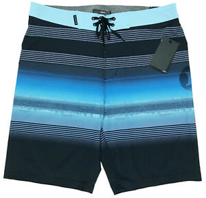 Mens Polyester Board Shorts,The Chicago River Serves as The Surfing Shorts