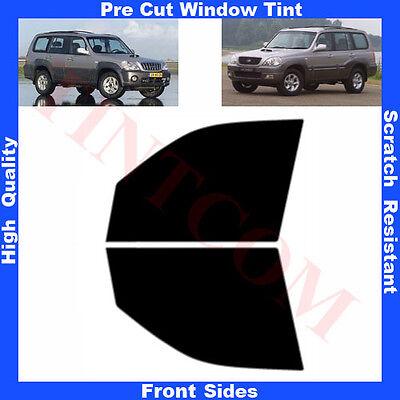 Pre Cut Window Tint Hyundai Terracan 5 Doors 2001-2007 Front Sides Any Shade