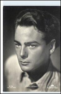 HEINZ-OHLSEN-Schauspieler-Kino-Film-Buehne-Fernsehen-Echtfoto-AK-um-1950