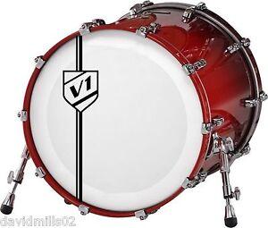 Vinyl Logos Custom Initials Sign Decals Stickers For Band Bass - Custom vinyl stickers milton keynes