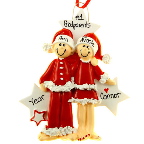 Lovers Personalized Christmas Tree Ornament P.J