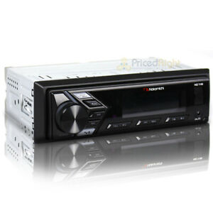 Nakamichi 1 DIN Digital Media Receiver Mechless Bluetooth USB AUX Stereo