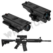 NcSTAR Delta 4X30 Scope LED Navigation P4 Sniper Illuminated Weaver Picatinny